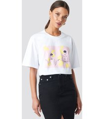 na-kd trend air hostess tee - white