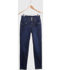 jeans ash skinny azul - calce ajustado