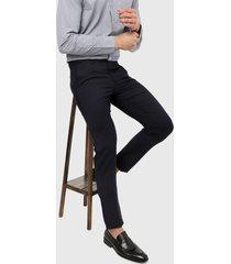 pantalón azul oscuro brooksfield