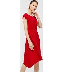 suknia z zakładkami