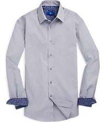 egara gray stripe sport shirt