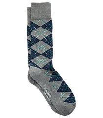 travel tech argyle mid-calf socks, 1-pair clearance