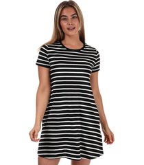 womens may life striped jersey pocket dress