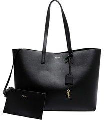 saint laurent shopping bag e/w