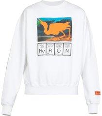 heron preston cotton oversize sweater