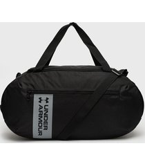 bolso roland duffle md negro under armour