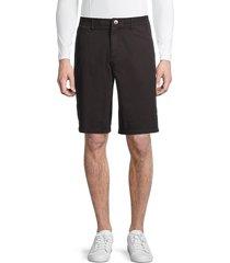buffalo david bitton men's haplay bermuda shorts - charcoal - size 34