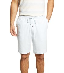men's daniel buchler space dye stretch cotton & modal pajama shorts