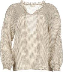 blouse met print emmery  naturel
