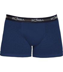 cueca boxer zorba algodão max 702 azul marinho - kanui