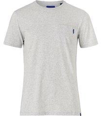 t-shirt ams blauw classic pocket tee
