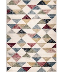 "edgewater living monument lane bermuda bone 5'3"" x 7'6"" area rug"