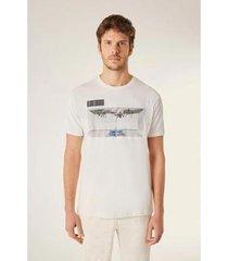 camiseta estampada ilha vj reserva masculina