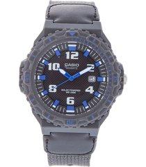 reloj  negro-azul casio