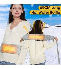 cintura multifunzionale di acqua calda extra-lunga grigio chiaro calda vita calda schiena assistenza sanitaria personale
