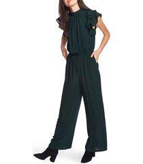 women's 1.state flutter sleeve jumpsuit