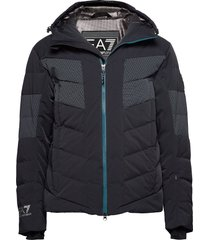 ski jacket outerwear sport jackets svart ea7