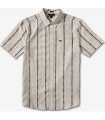 volcom men's barrun stripe shirt