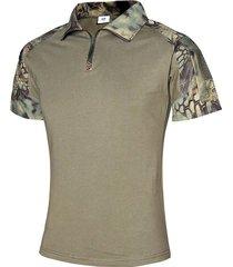 camiseta de combate del ejército de los militares del uniforme táctico