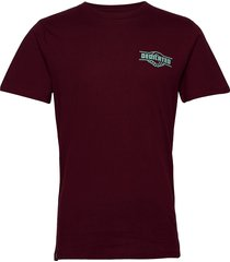 t-shirt stockholm good hands t-shirts short-sleeved röd dedicated