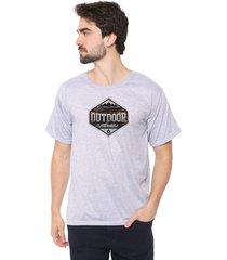 camiseta eco canyon outdoor cinza - kanui