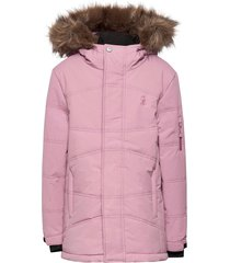 downhill winter jacket outerwear snow/ski clothing snow/ski jacket roze isbjörn of sweden