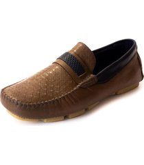 mocasin cuero cafe villabonr vm-4021