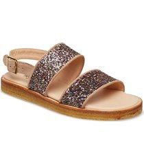 sandals - flat - open toe - op shoes summer shoes flat sandals guld angulus