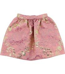 dolce & gabbana broccato puff skirt