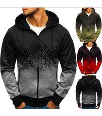 sudaderas con capucha para hombres moda casual algodón sudadera para-gris