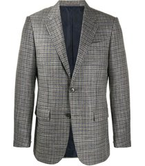 checkered formal jacket