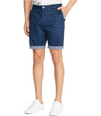 tallia men's dot print shorts
