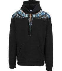 marcelo burlon grizzly wings hoodie