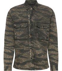 deploy ls shirt skjorta casual brun allsaints
