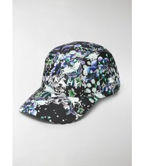 givenchy floral print logo cap