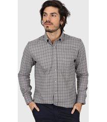 camisa gris gio renzi barcelona