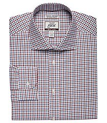 1905 collection extreme slim fit cutaway collar plaid dress shirt with brrr°® comfort, by jos. a. bank