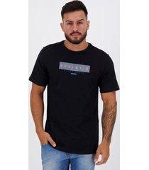 camiseta hurley silk circle dye preta - masculino