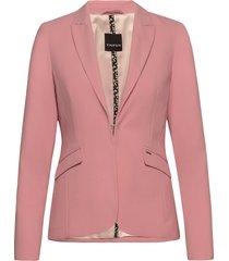 blazer long-sleeve blazer colbert roze taifun