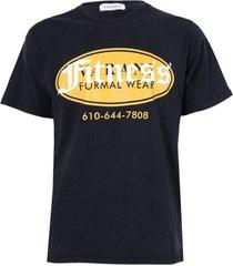 black formal wear t-shirt