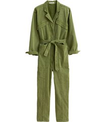 expedition jumpsuit in army olive
