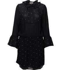 dress w. embroidered stars korte jurk blauw coster copenhagen