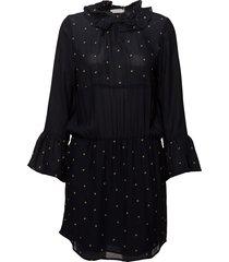 dress w. embroidered stars korte jurk blauw coster copenhagen
