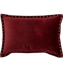 almofada decorativa de veludo benue