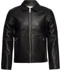 luk bonded leather jacket läderjacka skinnjacka svart zadig & voltaire