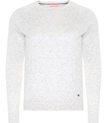 blusa masculina tricot - bege