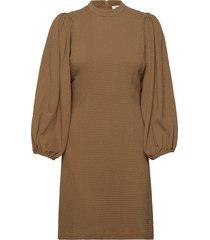 harrietta short dress 11238 korte jurk bruin samsøe samsøe