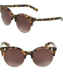 50mm clubmaster sunglasses