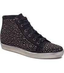 sneaker high top hoge sneakers zwart ilse jacobsen