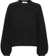 eija sweater stickad tröja svart stylein